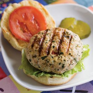Turkey Burgers with Feta and Olives