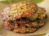 Zucchini and Green Olive Latkes