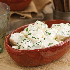 Potatoes in Garlic Mayonnaise