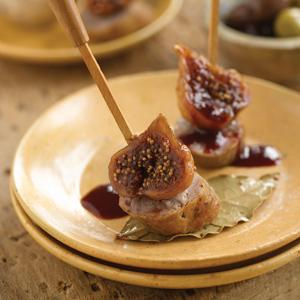 Sweet and Sour Figs with Sausage