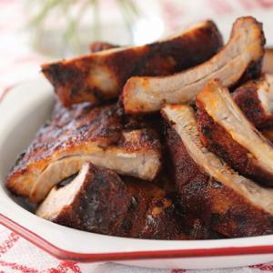 Spice-Rubbed Pork Ribs
