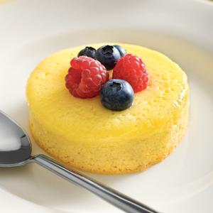Lemon Pudding Souffle Cake