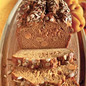 Pumpkin Apricot Bread
