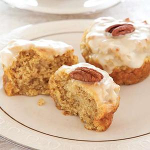 Sweet Potato Teacakes with Brown Butter Icing