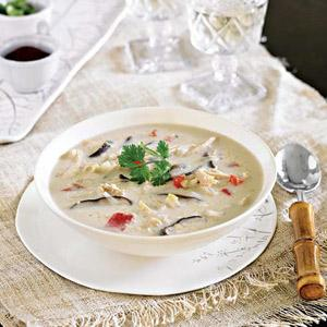 Thai Chicken and Coconut Soup