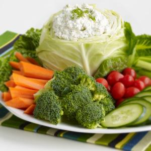 Broccoli & Veggies with Dilly Dip