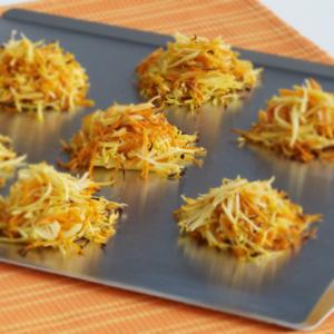 Root Vegetable Haystacks