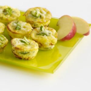 Mini Frittatas with Asparagus and Caramelized Onions