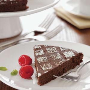 Chocolate Espresso Torte