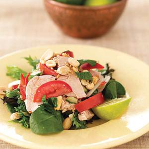 Nyoum Peng Pah (Tomato Pork Salad)