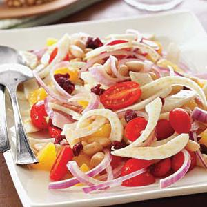 Cannellini Bean Salad with Orange, Fennel, and Tomatoes