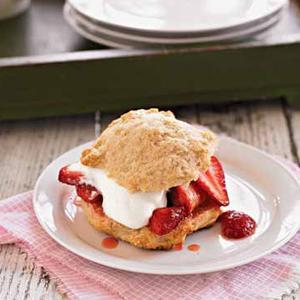 Streamlined Strawberry Shortcake