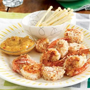 Coconut Shrimp with Sweet Hot Sauce