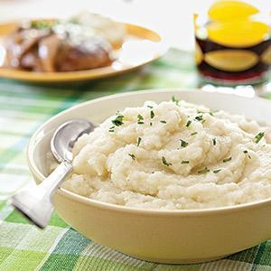 Garlic Whipped Cauliflower