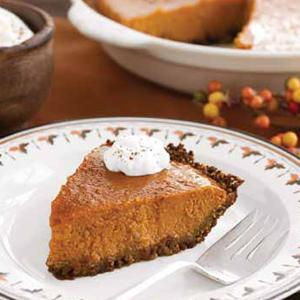 Lighter Pumpkin Pie