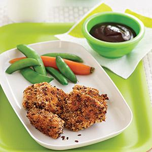 Lean and Crunchy Chicken Nuggets