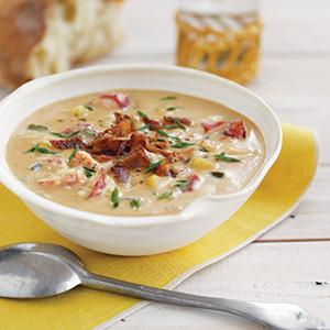 Smoky Lobster Chowder