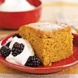 Pumpkin Cornmeal Cake