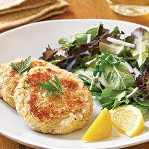 Lemon-Parmesan Fish Cakes