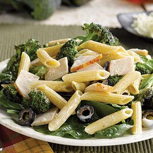 Chicken, Broccoli, and Ziti Salad
