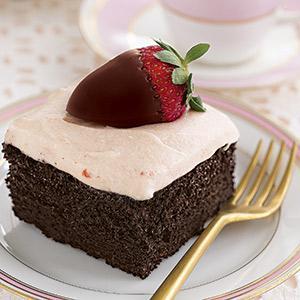 Chocolate Strawberry Fantasy Cake