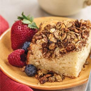 Dreamy Sour Cream Coffee Cake