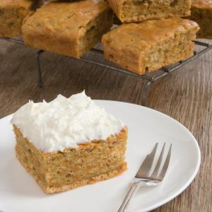 Carrot Snack Cake
