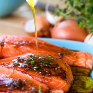 Ginger Sesame Salmon