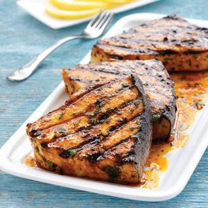 Moroccan Grilled Swordfish