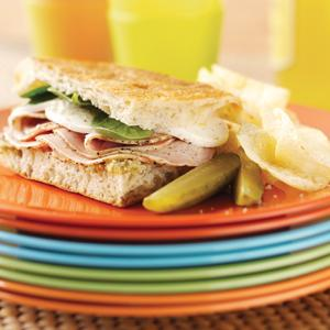 Roasted Pork Focaccia Sandwiches