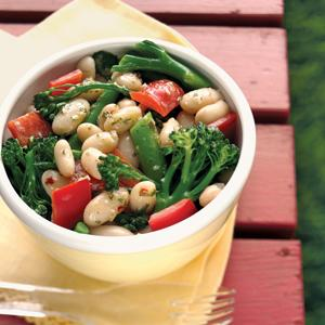 White Bean and Broccolini Salad