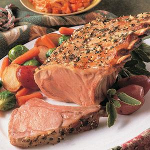 Veal Roast with Apricot-Thyme Chutney