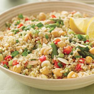 Lemon-Rosemary Quinoa Pilaf