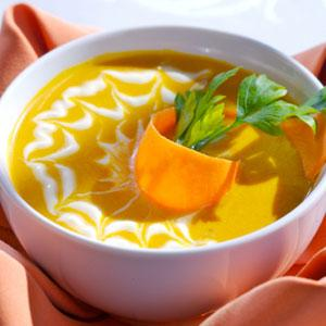 Carrot and Apple Soup