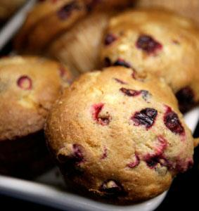 Strawberry-Blueberry Muffins