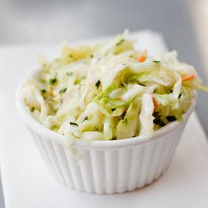 Summer Slaw with Lemon-Soy Dressing