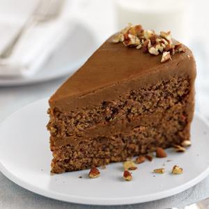 Caramel Pecan Torte