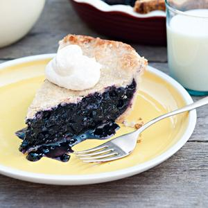 Melanie A. Chandlers First Prize Blueberry Pie