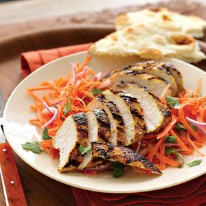 Indian-Spiced Grilled Chicken