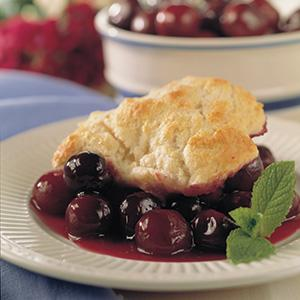 Very Cherry Cobbler