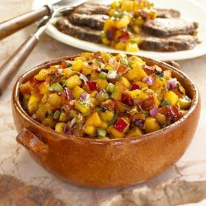 Mango Tango Steak and Salsa