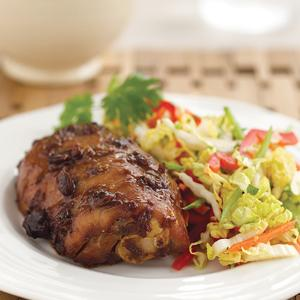 Miso-Glazed Chicken with Asian Slaw