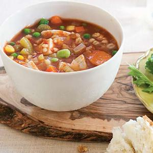 Marian's Vegetable Barley Soup
