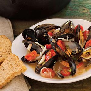 Mussels Cooked in Beer