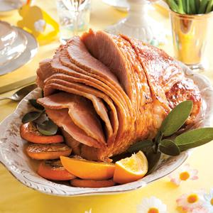 Honey and Orange Glazed Ham