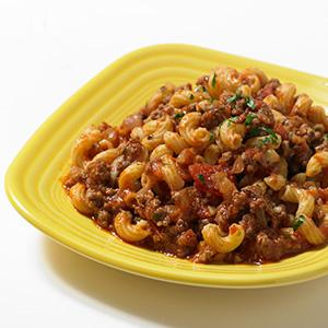 American Chop Suey Skillet Supper