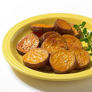 Oven Roasted Sweet Potato Rounds