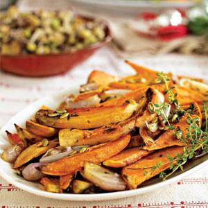 Herb-Roasted Sweet Potatoes