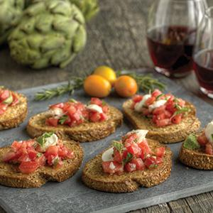 Rustic Tomato Bruschetta