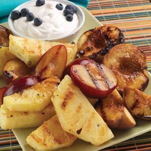 Marinated Grilled Fruit Recipe